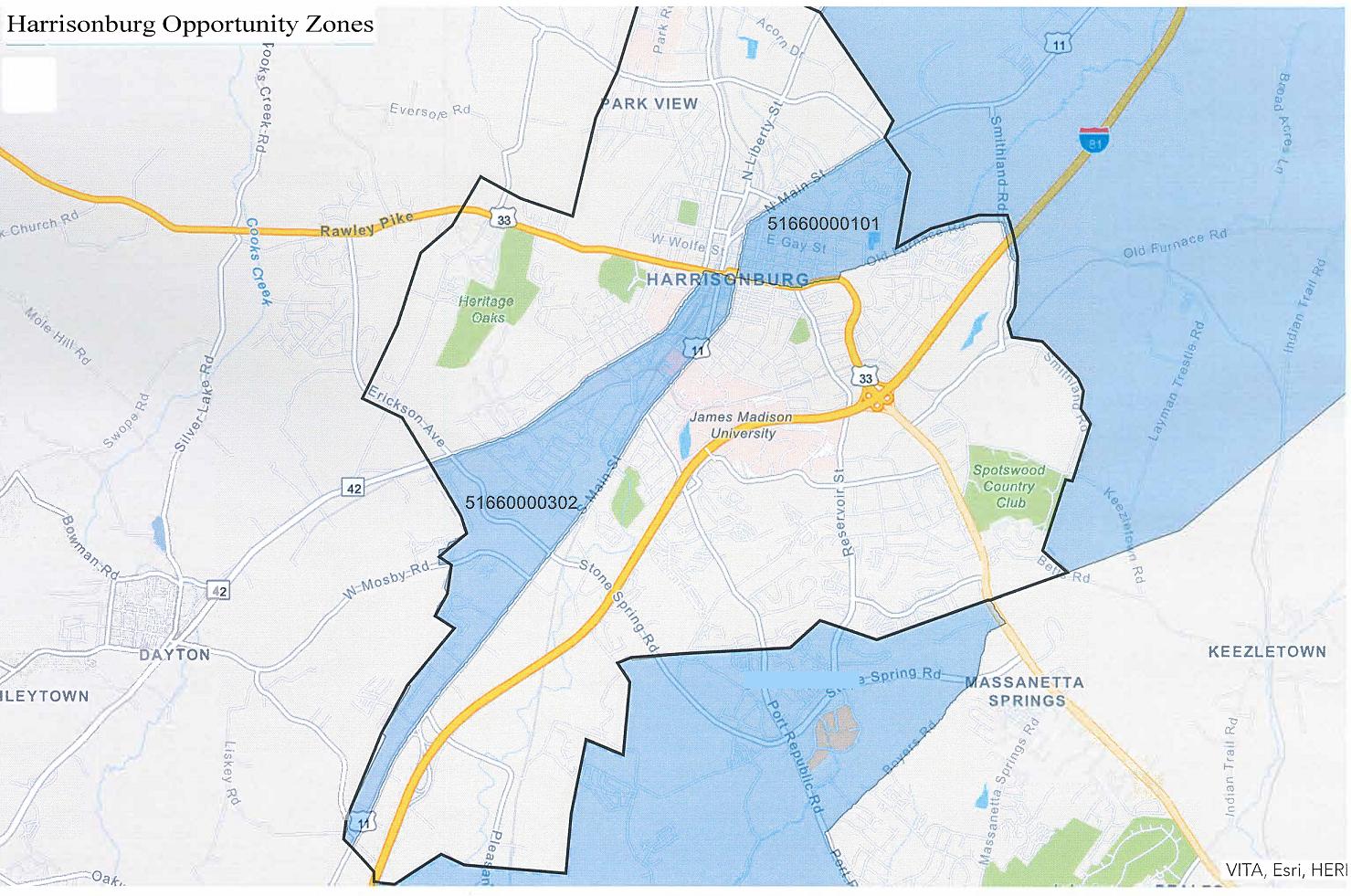 Opportunity Zones Map